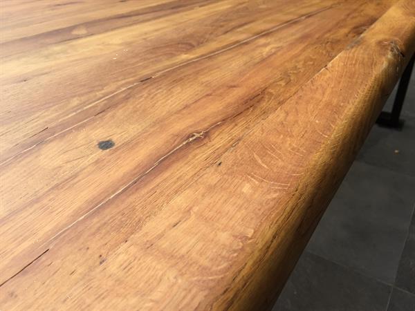Grote foto industriele tafel huis en inrichting eettafels