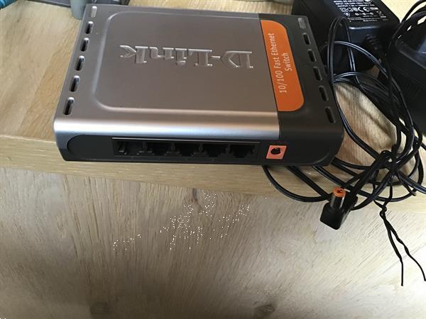 Grote foto d link 3 toestellen handig voor ethernet computers en software overige computers en software