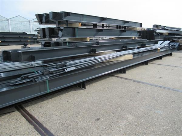 Grote foto nieuwe staalconstructie 15.00 x 40.00m 600m zakelijke goederen bedrijfs onroerend goed