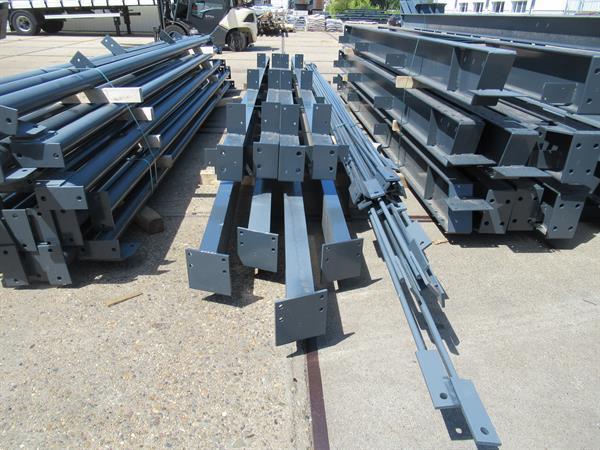 Grote foto nieuwe staalconstructie 12.00 x 30.00m 360m zakelijke goederen bedrijfs onroerend goed