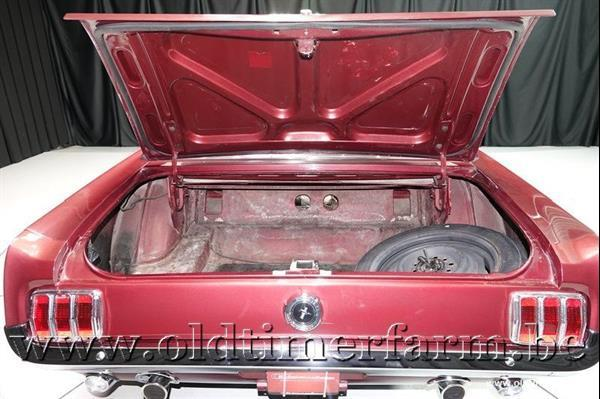 Grote foto ford mustang v8 convertible 66 ch2558 auto ford