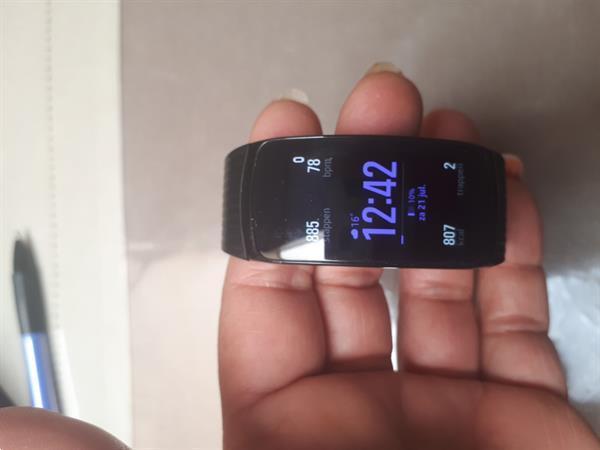 Grote foto samsung smartwatch gear fit2 pro sieraden tassen en uiterlijk dames