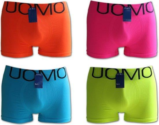 Grote foto uomo microfiber ondergoed 4 pack kleding heren ondergoed