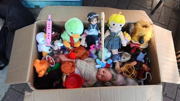 Grote foto barbie poppenhuis hobby en vrije tijd speelgoed