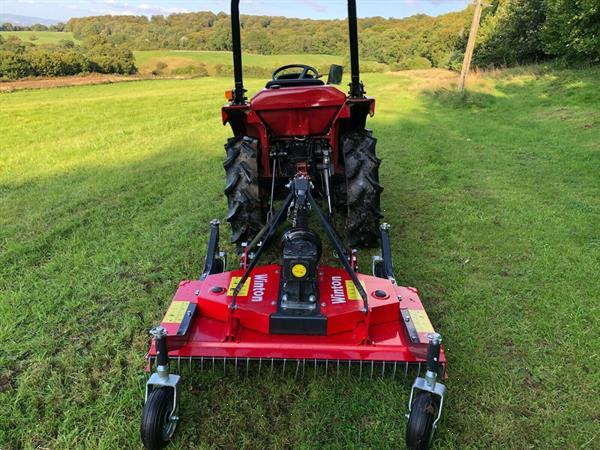 Grote foto mitsubishi mt i65 c2mt 4wd agrarisch tractoren