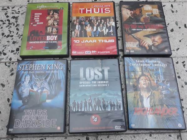Grote foto 6 dvd s cd en dvd tv en series
