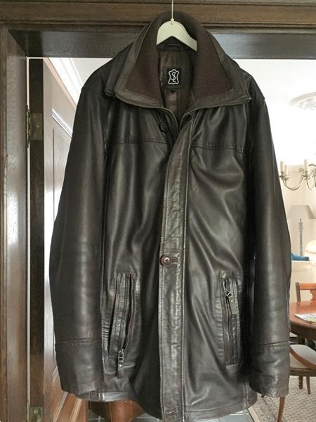 Grote foto te koop een lederen jas kleding heren jassen winter