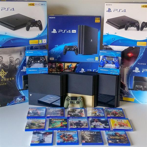 Grote foto playstation 4 spelcomputers games playstation 4