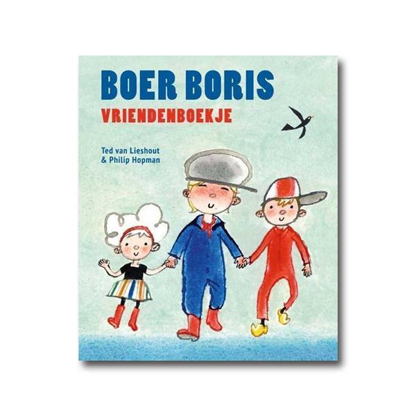 Grote foto boer boris vriendenboekje zakelijke goederen kantoorartikelen