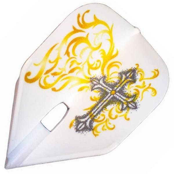 Grote foto l style signature shape hoshino v5 white sport en fitness darts