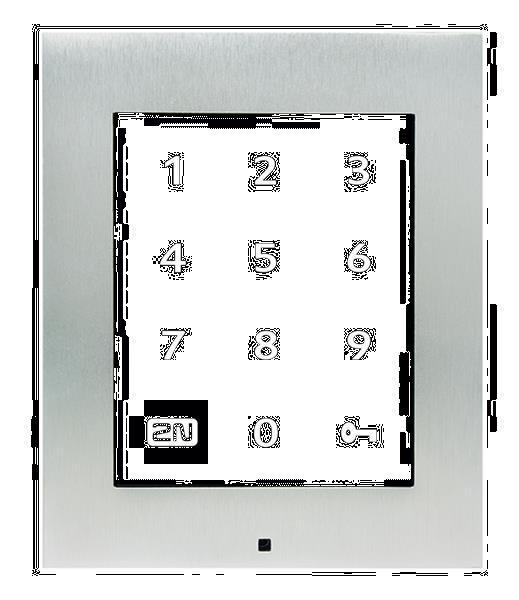 Grote foto 2n access unit 2.0 touch keypad zonder rfid en controlle telecommunicatie overige telecommunicatie