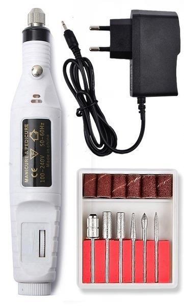 Grote foto nagelfrees nagel frees manicure pedicure elektrische vijl w beauty en gezondheid make up sets