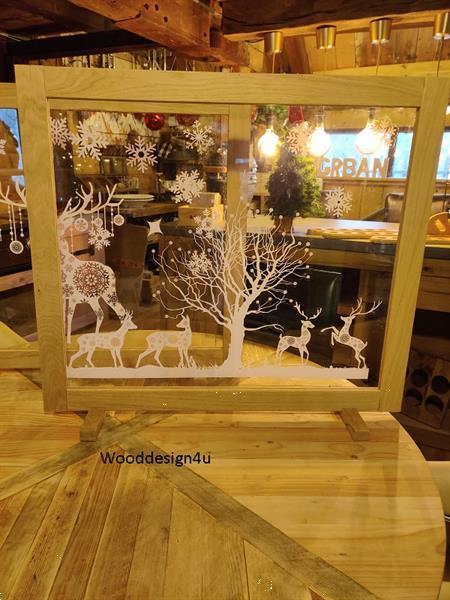 Grote foto corona preventie scherm feestdagen wooddesign4u diversen overige diversen