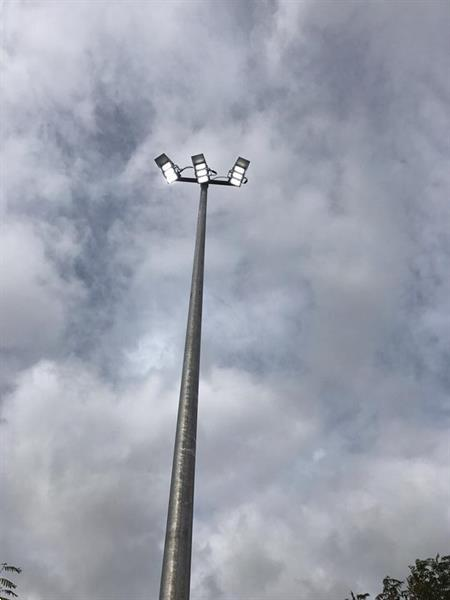 Grote foto 12 meter bovengronds stalen lantaarnpaal lichtmast tbv led zakelijke goederen overige zakelijke goederen