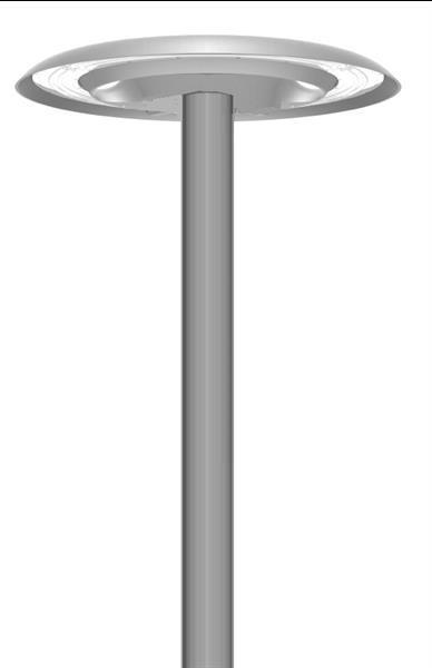 Grote foto led rond design lantaarnpaal armatuur vocgts on top 50w zakelijke goederen overige zakelijke goederen