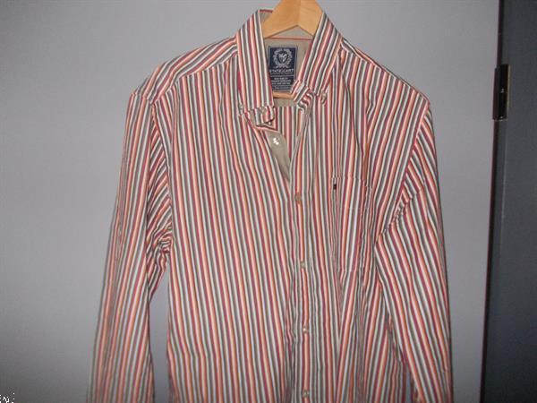 Grote foto 3 overhemden en 1 bontgekleurd shirt kleding heren overhemden