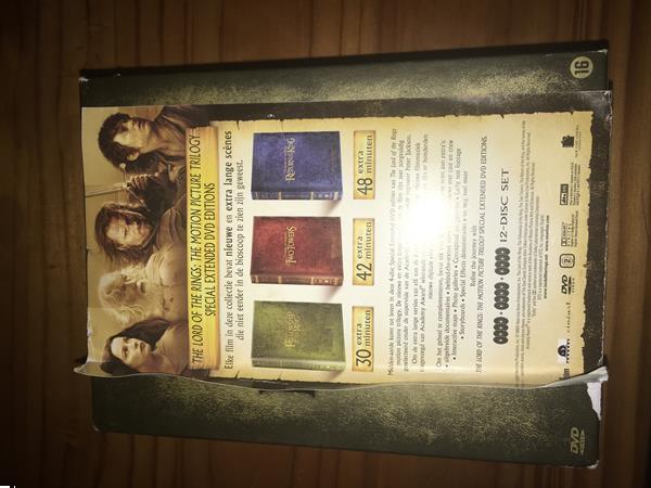 Grote foto dvd box te koop van lord of rings cd en dvd overige