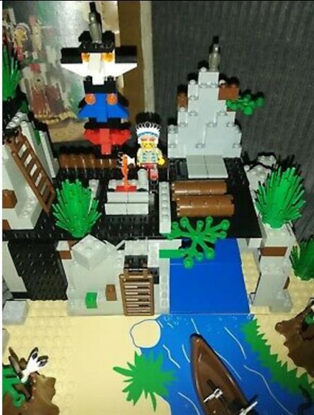 Grote foto lego 6763 rapid river village kinderen en baby duplo en lego
