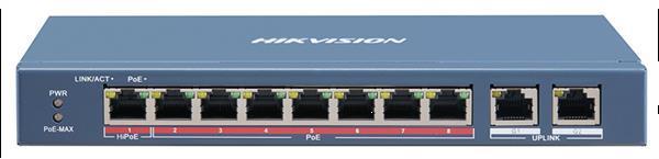 Grote foto hikvision hik ds 3e0510hp e 8 poorts gigabit poe switch computers en software netwerkkaarten routers en switches