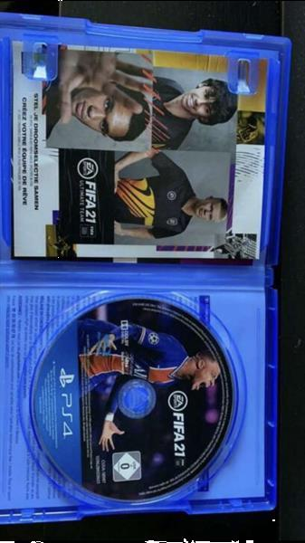 Grote foto fifa 21 spelcomputers games playstation 4