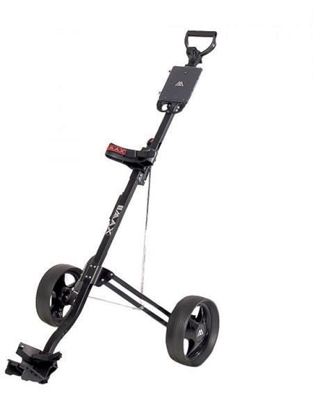 Grote foto big max basic 2 wheel zwart sport en fitness golf