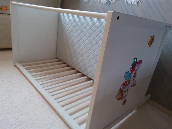 Grote foto te koop babybedje met matras kinderen en baby overige meubels