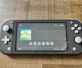Grote foto nintendo switch lite grijs spelcomputers games overige merken