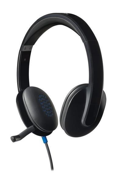 Grote foto h540 headset hoofdband zwart audio tv en foto koptelefoons