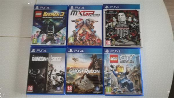 Grote foto ps4 2tb controller 6 games spelcomputers games playstation 4
