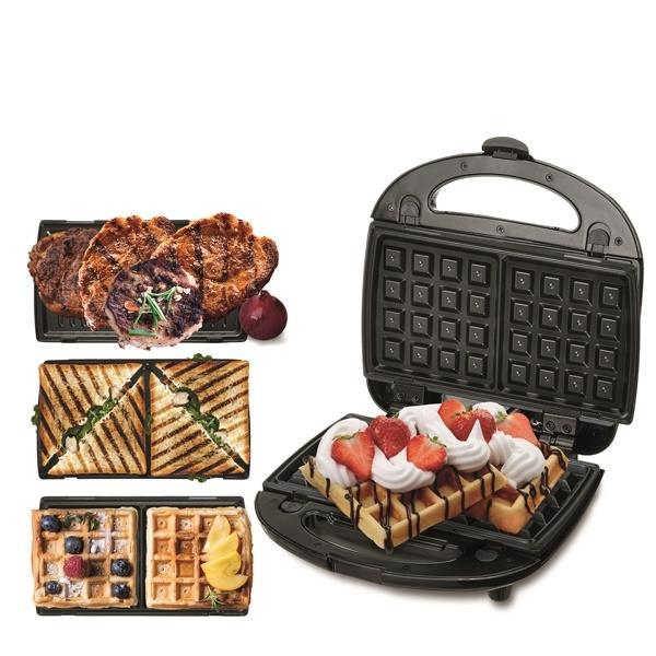Grote foto cr3024 grill sandwich en wafelmaker 3in1 alleen deze w witgoed en apparatuur keukenmachines