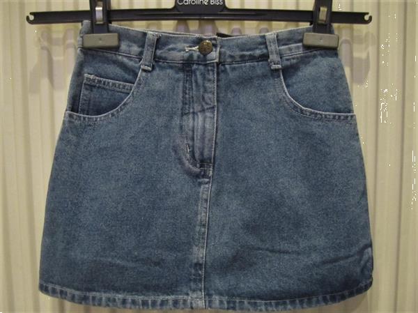 Grote foto super leuk jeans rokje maat 134 kinderen en baby maat 134