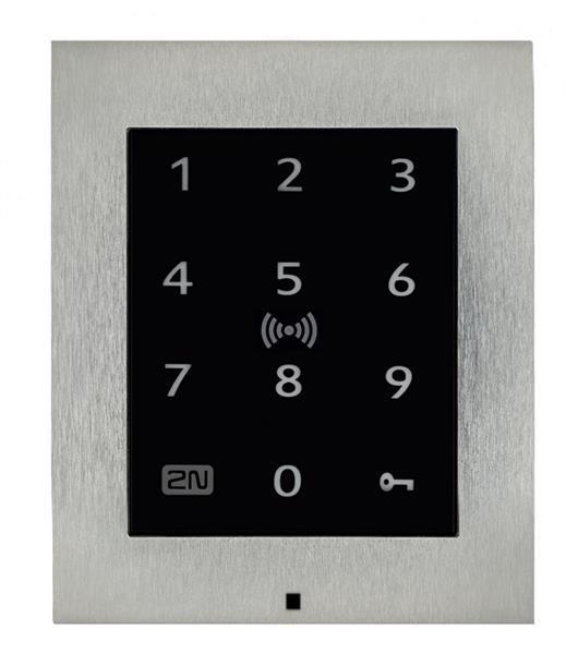 Grote foto 2n access unit 2.0 all in one kaartlezer touch keypad rf telecommunicatie overige telecommunicatie