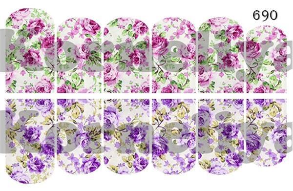 Grote foto water decal nail wrap 690 beauty en gezondheid make up sets