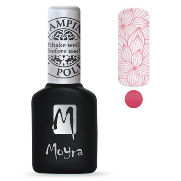 Grote foto moyra stamping gel polish 10ml sgp05 pink beauty en gezondheid make up sets