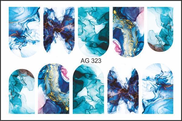 Grote foto korneliya airbrush waterdecal ag 323 beauty en gezondheid make up sets