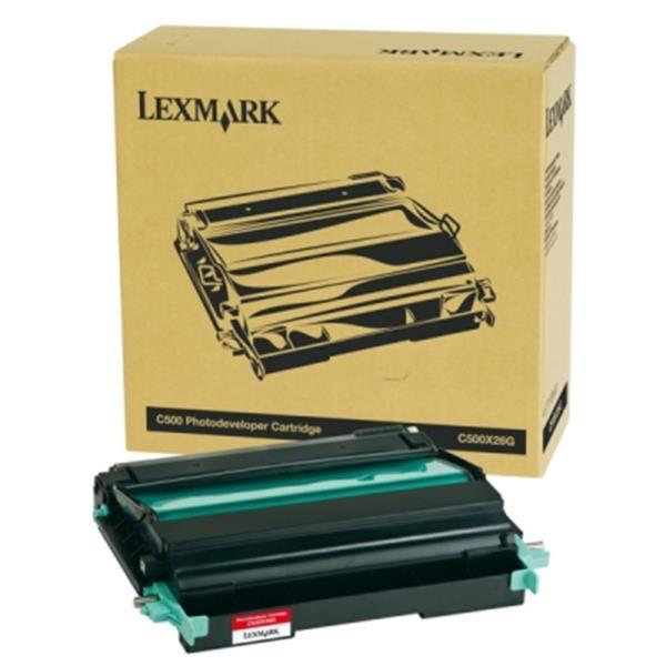 Grote foto lexmark drum c500x26g origineel merkartikel computers en software printers