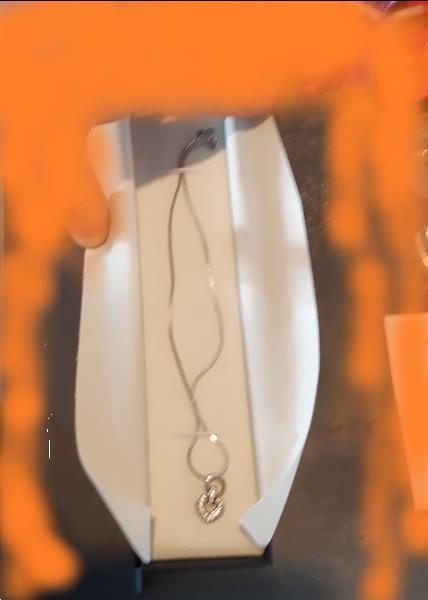 Grote foto zilveren halsketting sieraden tassen en uiterlijk juwelen voor haar