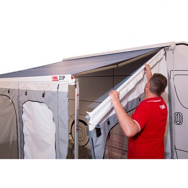 Grote foto fiamma f45s zip 350 medium deluxe grey caravans en kamperen tenten