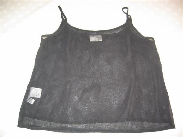 Grote foto zwart topje maat 40 canda c a kleding dames tops