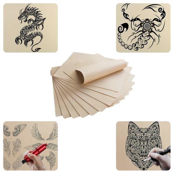 Grote foto tattoo kunsthuid set van 10 stuks nephuid oefenhuid beauty en gezondheid make up sets