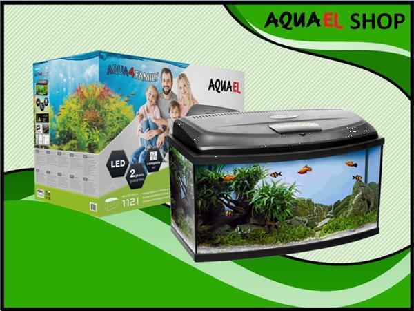 Grote foto aqua4 family 80 panorama aquarium set compleet dieren en toebehoren vissenkommen