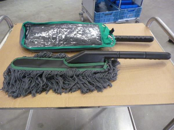 Grote foto stof duster doos a 35 stuks zakelijke goederen overige zakelijke goederen