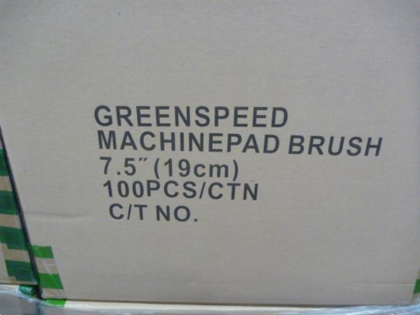 Grote foto vloerpads 19 cm doos a 100 stuks zakelijke goederen overige zakelijke goederen