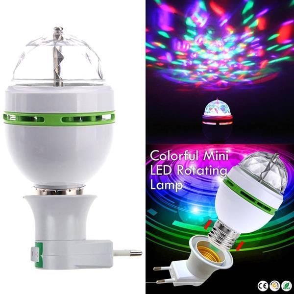 Grote foto led e27 3w rgb draaiende roterende lamp disco licht muziek en instrumenten overige muziek en instrumenten