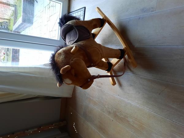 Grote foto schommel paardje kinderen en baby wipstoeltjes