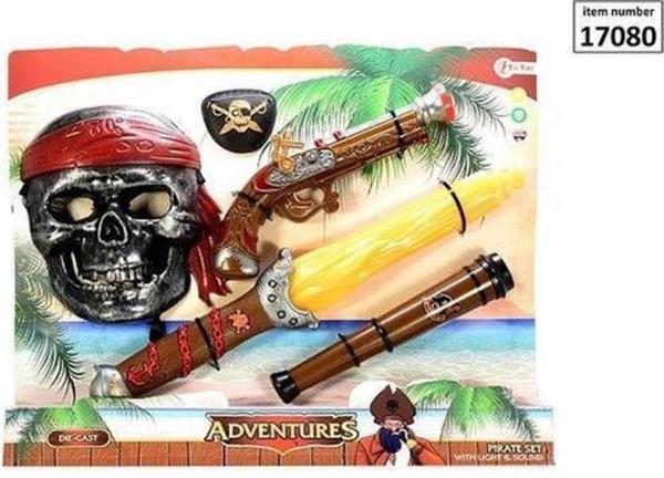 Grote foto piratenset met licht en geluid zakelijke goederen overige zakelijke goederen