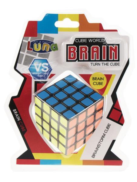 Grote foto rubik cube 4 x 4 luna 6 2 cm kinderen en baby puzzels
