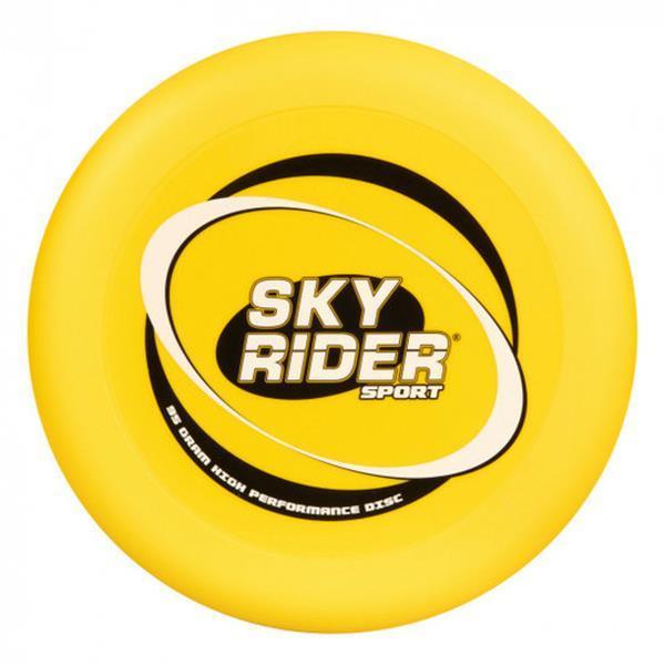 Grote foto frisbee sky rider sport junior 28 cm geel kinderen en baby los speelgoed