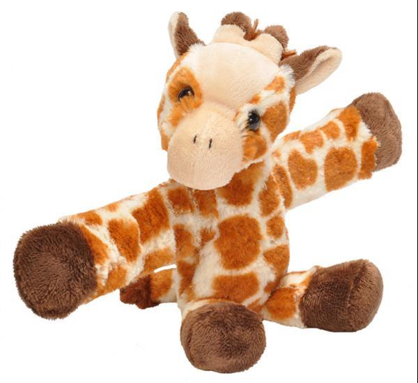 Grote foto knuffel giraffe junior 20 cm pluche beige bruin kinderen en baby knuffels en pluche