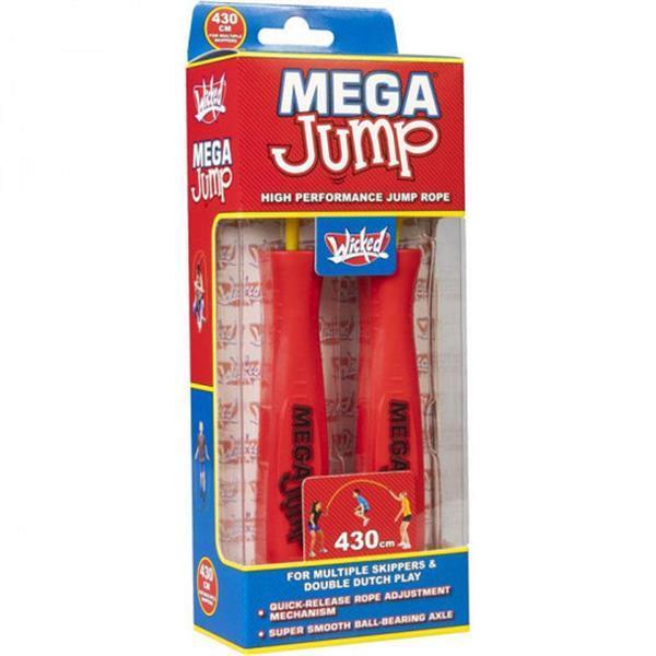 Grote foto springtouw mega double dutch junior 4 3 meter rood geel kinderen en baby los speelgoed